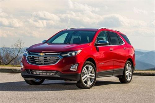 =3. Chevrolet Equinox Diesel (mức tiêu hao nhiên liệu: 8,8 lít/100 km).