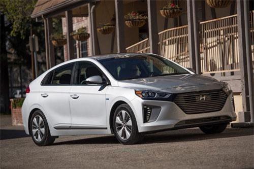 3. Hyundai Ioniq Electric 2019 (giá khởi điểm: 30.315 USD).