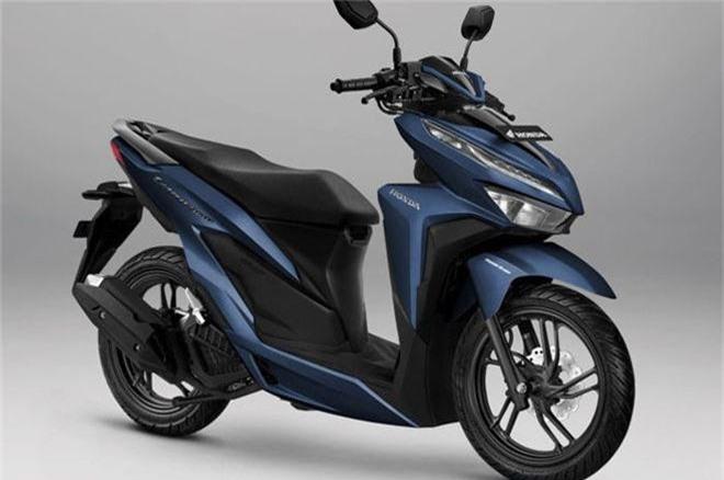 Tùy chọn màu Exclusive Matte Blue trên HondaVario 150.