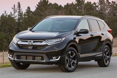 =7. Honda CR-V (mức tiêu hao nhiên liệu: 9,4 lít/100 km).