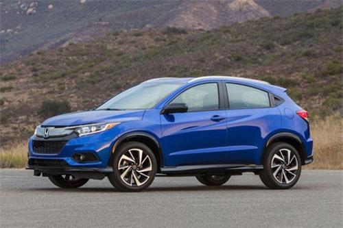 =7. Honda HR-V (mức tiêu hao nhiên liệu: 9,4 lít/100 km).