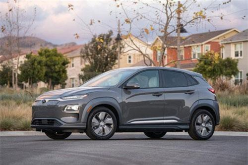 8. Hyundai Kona Electric 2019 (giá khởi điểm: 36.450 USD).
