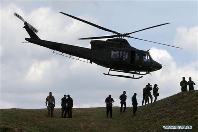 Khí tài quân sự Mỹ - Philippines phô diễn sức mạnh trong tập trận lớn nhất năm - 2