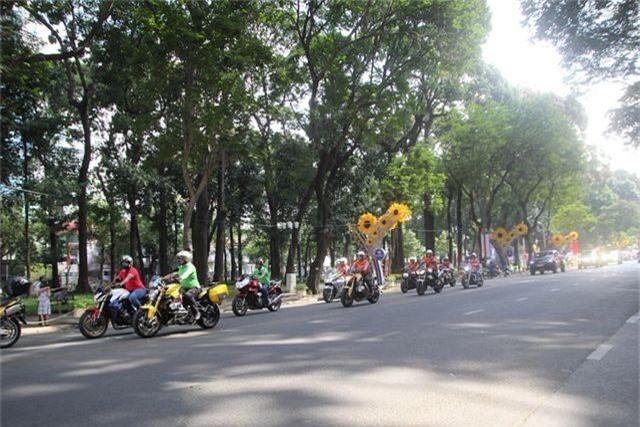 Ngày mai TPHCM hạn chế xe lưu thông trong khu trung tâm - 1