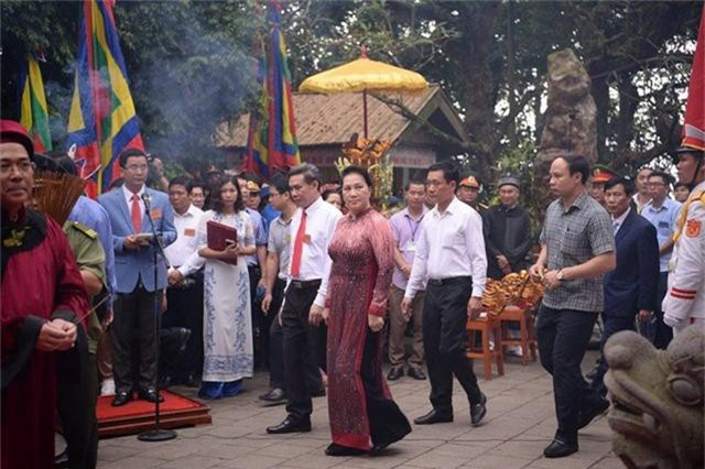 Tổ chức trọng thể Lễ dâng hương tưởng niệm các Vua Hùng - Ảnh 4.