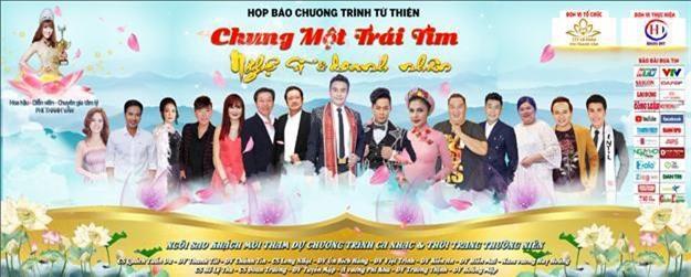 Chương trình có sự góp mặt của nhiều nghệ sĩ Việt nổi tiếng