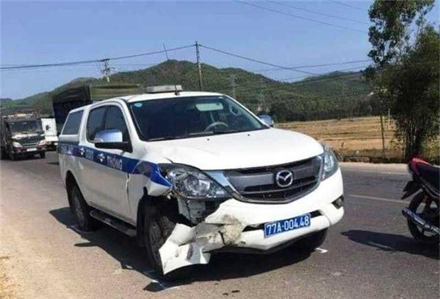 Xe CSGT va chạm khi tuần tra, 1 người tử vong - 1