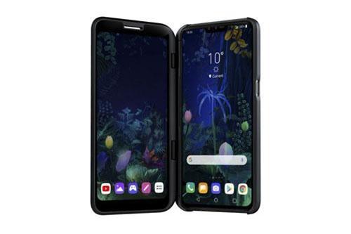LG V50 ThinQ 5G có thể kết nối với ốp lưng Dual View. Ốp lưng này là màn hình OLED 6,2 inch và dễ dàng gắn vào máy.