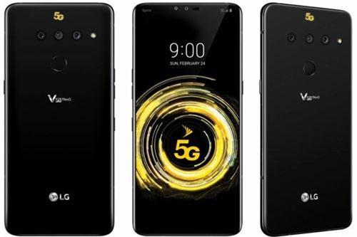 LG V50 ThinQ 5G chỉ có màu đen. Giá bán chưa được hé lộ.