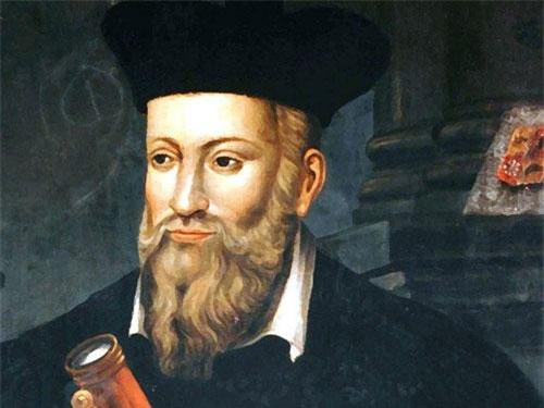 Chân dung nhà chiêm tinh Nostradamus.
