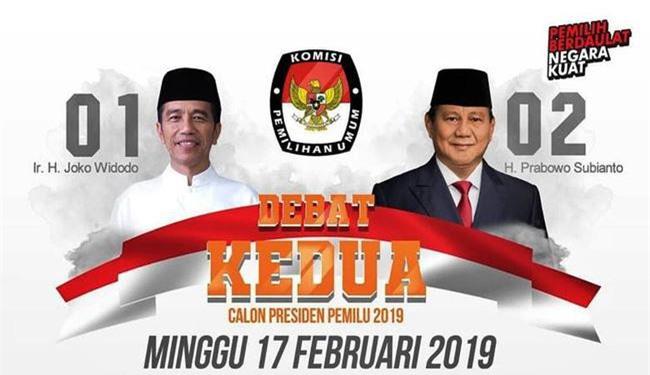 Hai ứng cử viên cho vị trí Tổng thống Indonesia.