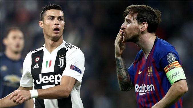 Messi vẫn xuất sắc hơn Ronaldo ở Cúp C1 với thống kê đặc biệt