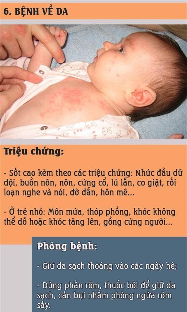 Nắng nóng: Đề phòng những bệnh trẻ thường mắc khi vào hè và cách phòng tránh - Ảnh 6.