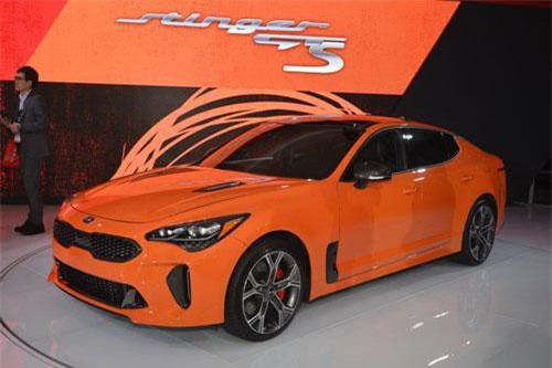Kia Stinger GTS 2020.