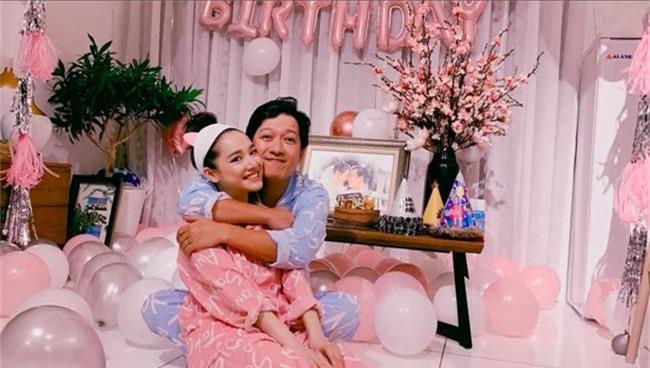 Nhã Phương tung clip chúc mừng sinh nhật cùng lời nhắn đặc biệt đến ông xã Trường Giang - Ảnh 2.