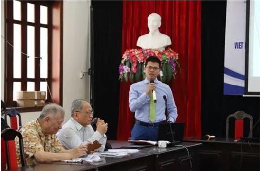 Ông Nguyễn Anh Dương phát biểu tại hội thảo.