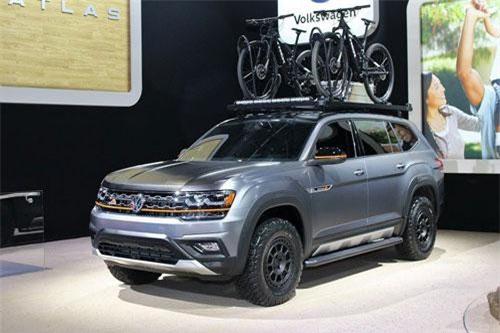 2. Volkswagen Atlas Basecamp Concept 2019.
