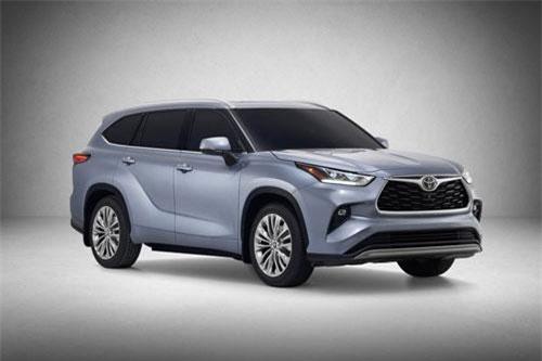 3. Toyota Highlander 2020.