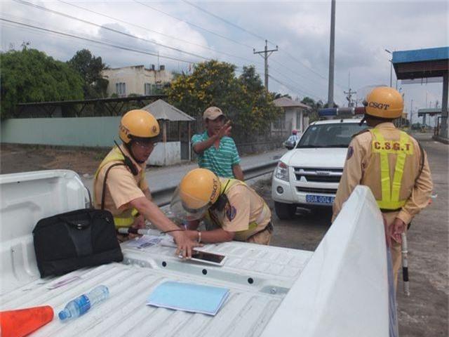 Hàng loạt tài xế dính lỗi quá tốc độ trên đường cao tốc TP.HCM – Trung Lương - 2