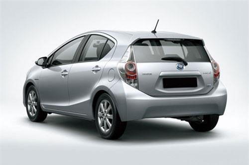 8. Toyota Aqua (doanh số: 36.024 chiếc).