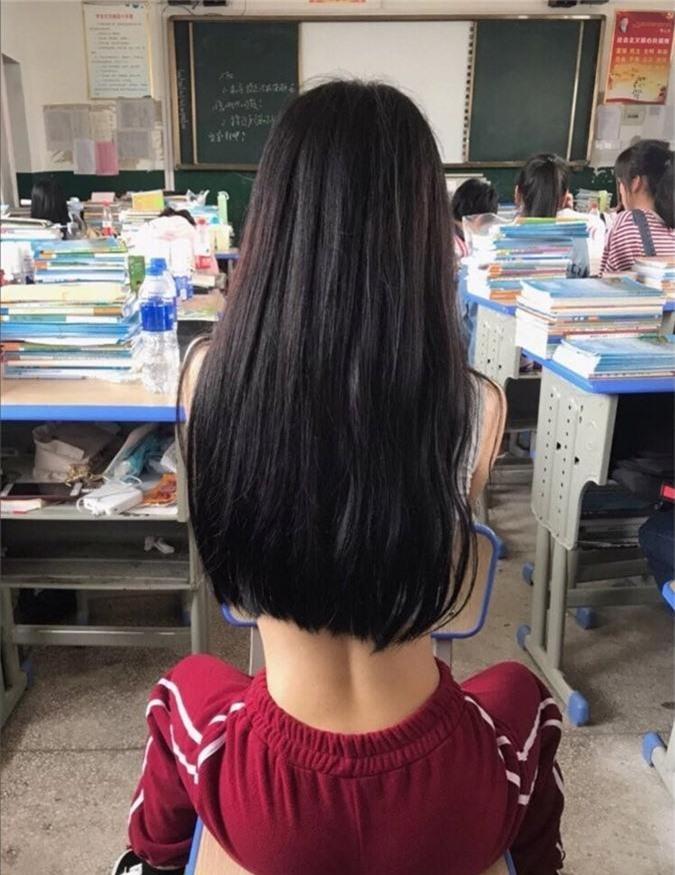 Mặc áo ngắn cũn cỡn, nhóm nữ sinh khiến ai nhìn cũng ngán ngẩm với kiểu thời trang phang trường học-5