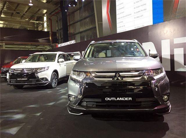 Mitsubishi Outlander lắp ráp trong nước