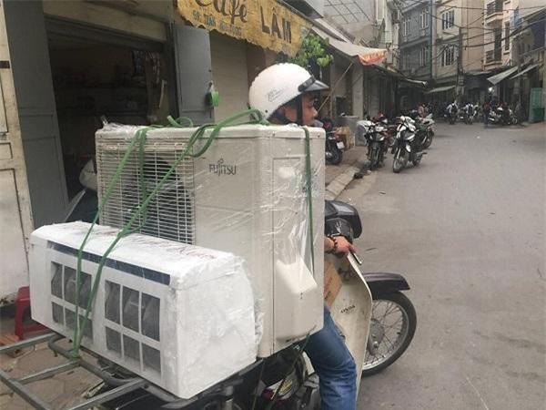Thị trường cho thuê máy lạnh ở TP.HCM đang đắt hàng (Ảnh: TM)
