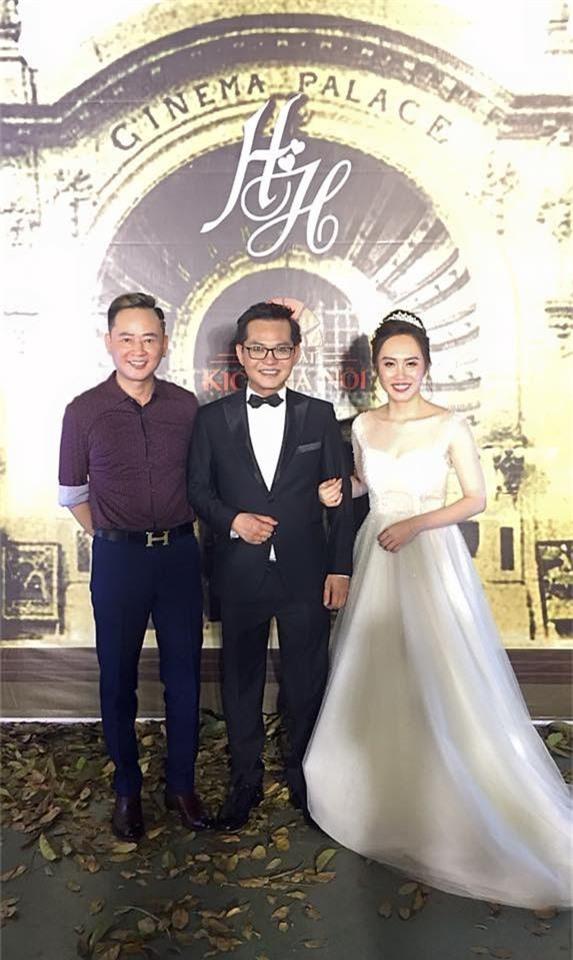 Kết hôn ở tuổi 46, NSND Trung Hiếu một lần chơi lớn, biến đám cưới lần 3 tại Hà Nội thành Đại hội Hội Nghệ sĩ sân khấu Việt Nam - Ảnh 3.