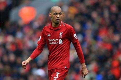 Tiền vệ trung tâm: Fabinho (Liverpool).