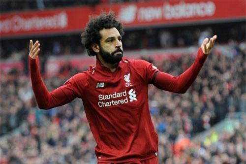 Tiền vệ trái: Mohamed Salah (Liverpool).