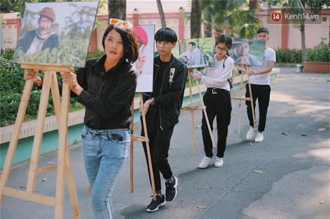 NSƯT Mỹ Uyên, Ốc Thanh Vân và nhiều đồng nghiệp đến viếng đám tang cố nghệ sĩ Lê Bình - Ảnh 1.