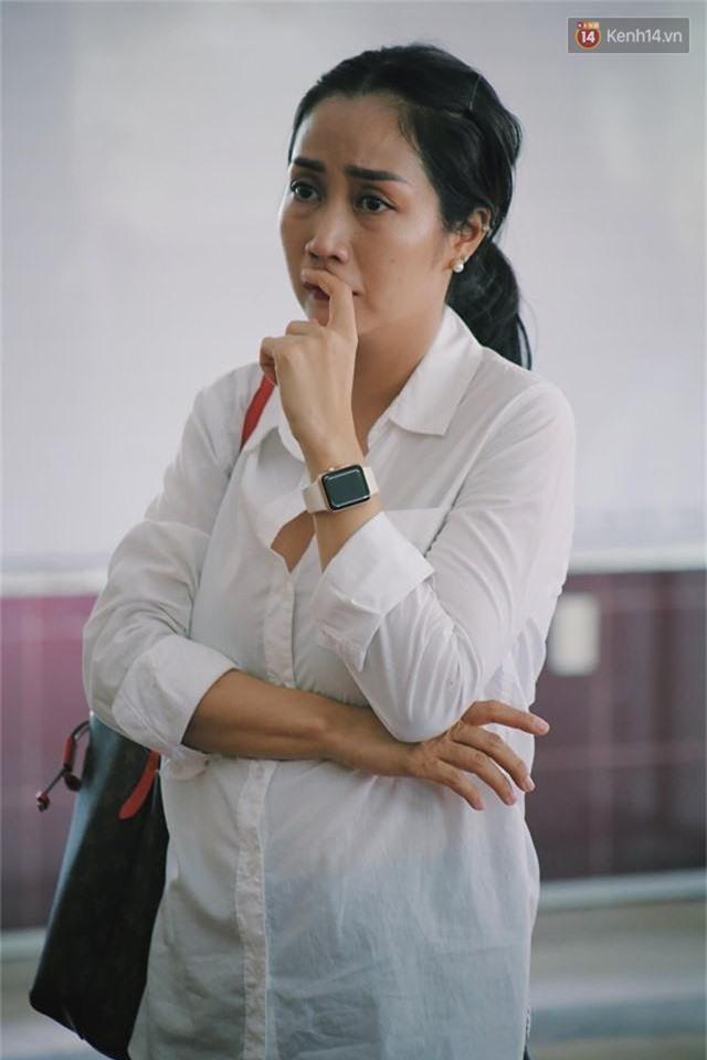NSƯT Mỹ Uyên, Ốc Thanh Vân và nhiều đồng nghiệp đến viếng đám tang cố nghệ sĩ Lê Bình - Ảnh 7.