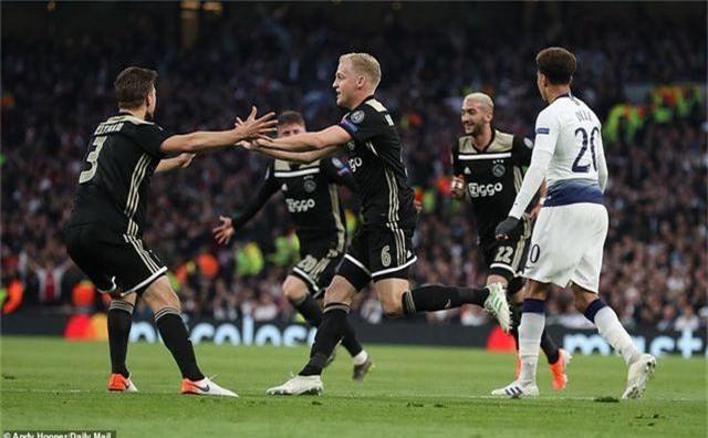 Những điểm nhấn sau chiến thắng của Ajax trên sân Tottenham - 2
