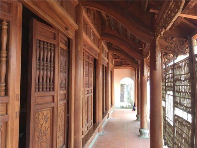 Trầm trồ trước vẻ đẹp của ngôi nhà gỗ mít độc nhất nhì đất Hà Thành - 2