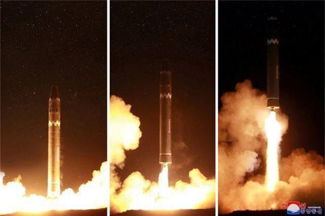 """Chuyên gia """"giải mã"""" vụ phóng tên lửa mới của Triều Tiên - 1"""