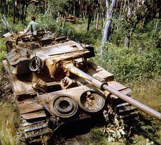 Bat ngo xe tang nang nhat trong Chien tranh Viet Nam