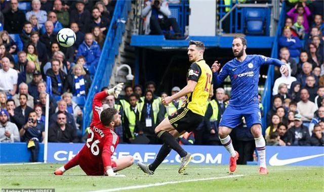 Chelsea 3-0 Watford: The Blues vào top 3 - 2