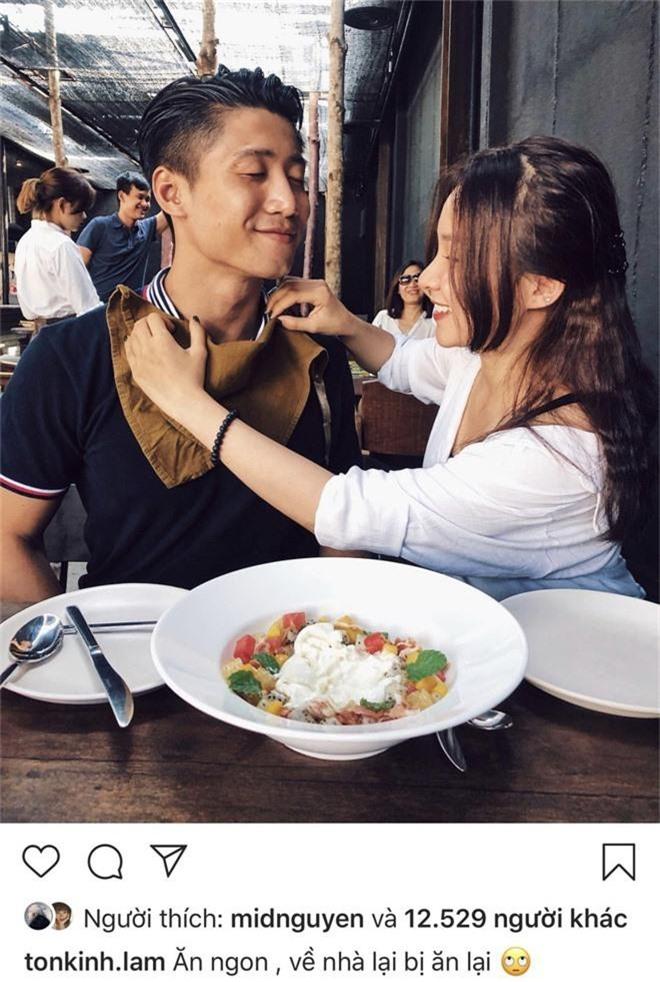 Mang tiếng có tình yêu đẹp như mơ, Tôn Kinh Lâm vẫn bị bắt gặp đòi gặm Thuý Vi và có những hành động khả nghi - Ảnh 5.