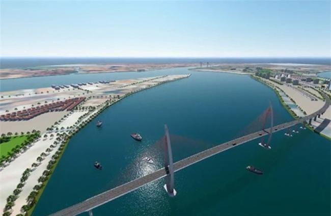 Phối cảnh dự án cầu vượt biển nối huyện Cần Giờ (TPHCM) với TP Vũng Tàu (Bà Rịa - Vũng Tàu) dài 12km (ảnh TL)