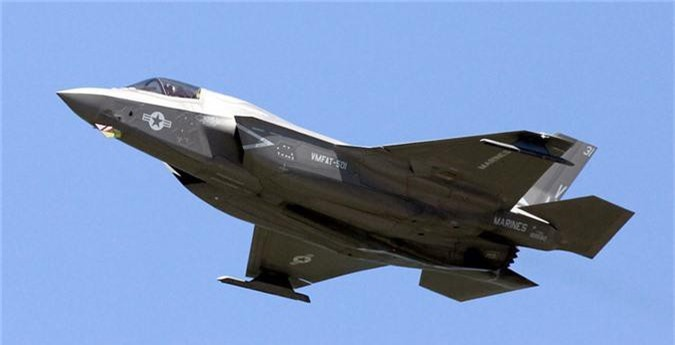 My thua nhan F-35 khong the thuc hien dong tac bay