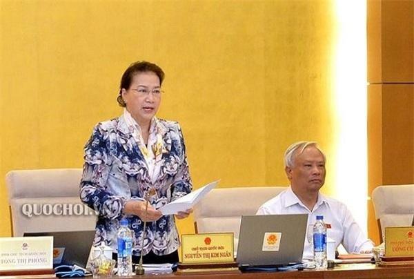 Chủ tịch Quốc hội Nguyễn Thị Kim Ngân. (Ảnh: Quochoi.vn)