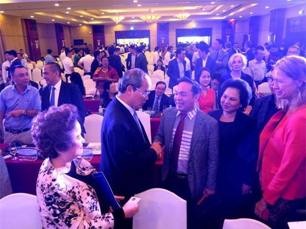Lãnh đạo TPHCM gặp gỡ, trao đổi với doanh nghiệp xúc tiến đầu tư (ảnh LK)