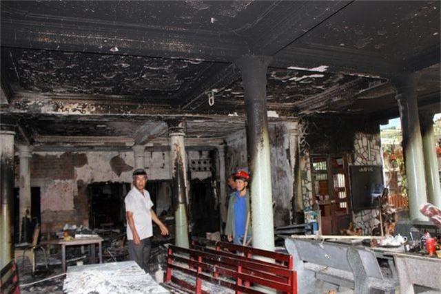 Hỏa hoạn thiêu rụi ngôi chùa 56 tuổi ở Phú Yên - 2