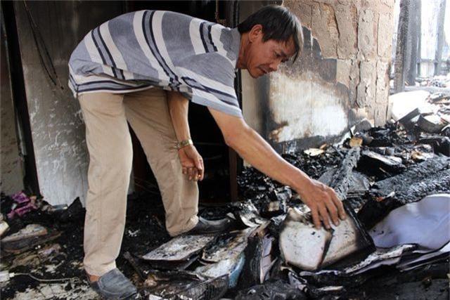 Hỏa hoạn thiêu rụi ngôi chùa 56 tuổi ở Phú Yên - 6