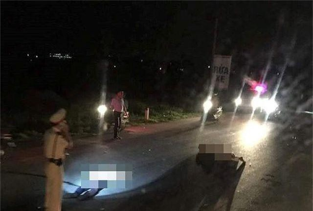 Một công an viên tông xe vào CSGT, cả 2 cùng trọng thương - 1