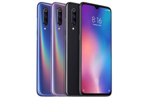 Các tùy chọn màu sắc của Xiaomi Mi 9.
