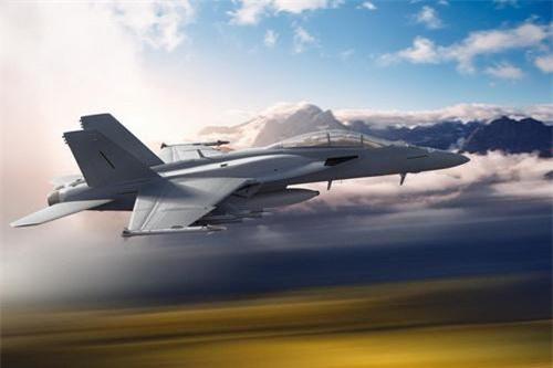 Phiên bản nâng cấp cao nhất của dòng tiêm kích hạm F/A-18 mang tên Advance Super Hornet