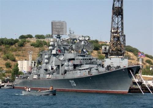 Tuần dương hạm chống ngầm Kerch lớp Kara của Hải quân Nga