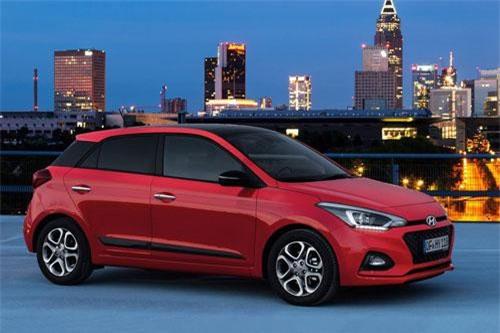 8. Hyundai i20 (doanh số: 10.411 chiếc).