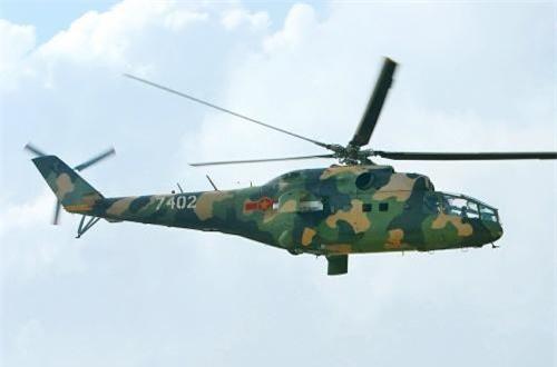 Mi-24A hay thường gọi đơn giản Mi-24 là dòng trực thăng tấn công hạng nặng duy nhất trong lịch sử trang bị của Không quân Nhân dân Việt Nam.
